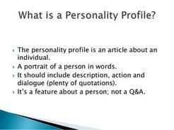 personal profile essay  personal profile essay