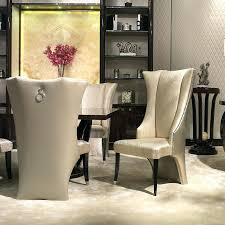 high back chairs for dining room upholstered