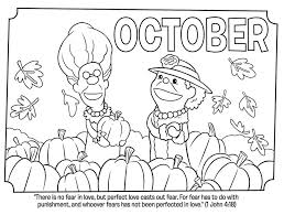 Free printable fall coloring pages. October 3 Coloring Page Free Printable Coloring Pages For Kids