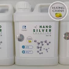 Dung dịch Nano Bạc MC Pharma khử mùi khử khuẩn cho xe ô tô, nhà cửa, văn  phòng dùng cho máy phun khói
