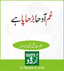 Hazrat Ali Qool Quote About Tension Quotes In Urdu