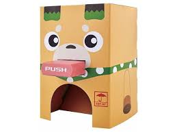 Cardboard Vending Machine Mesmerizing PikachinKit Cardboard Vending Machine Kit By Bandai HobbyLink Japan