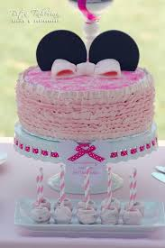 baby minnie mouse 1st birthday organic homemade custom designed minnie mouse birthday cake