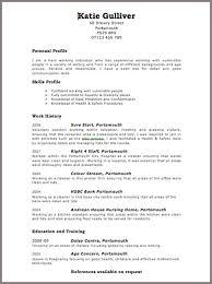 free resume sample berathencom fre resume templates