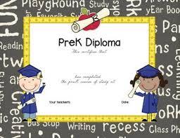 Prek Diploma Prek Diploma By Karen Sapp Teachers Pay Teachers