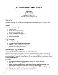 Account Payable Resume Luxury Accounts Payable Resume Sample 24 Professional Templates 10