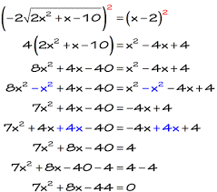 solving radical equations chilimath
