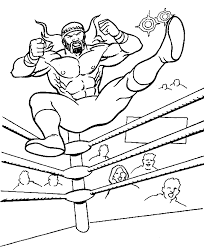 Small Picture WWE Coloring Pages Dr Odd Coloring Pages WWE Pinterest