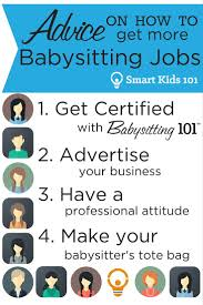 babysitting jobs advice on how to get more babysitting jobs smart kids 101