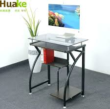 Movable Coffee Table Desk China May Glass Desktop Computer Study Cm Small  Sliding Top