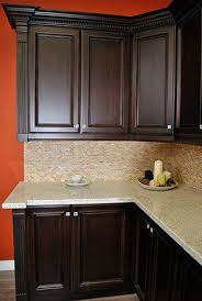 staining cabinets darker. Dark Stained Maple Kitchen Cabinets Granit Countertop Real Stain For Staining Darker