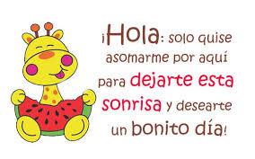 Dia Quote Simple Quiero Desearte Un Bonito Dia HUMOR Pinterest Distance Frases