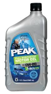 Synthetic Blend Oil Comparison Chart Full Synthetic Oil Peak Auto Motor Oils Synthetic