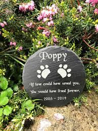 personalised end pet memorial