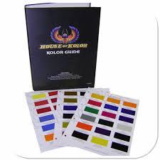 Hoc Cc160 House Of Kolor Kolor Guide Paint Chip Chart