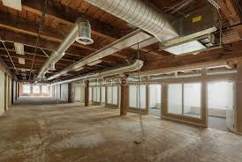 online office space. Empty Office Space Under Construction Online
