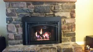 newly installed heat n glo escape gas fireplace insert