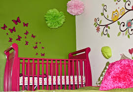 Image Paint Colors Baffling Design Baby Girls Nursery Ideas Featuring Pink Green Cute Come With White Wall Paints Colors Netbul House Design Interior Baffling Design Baby Girls Nursery Ideas Featuring Pink Green Cute
