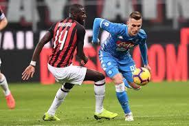 Calcio, Coppa Italia 2019: Milan vs Napoli probabili ...