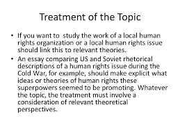 writing an extended essay in human rights ppt video online 10 treatment