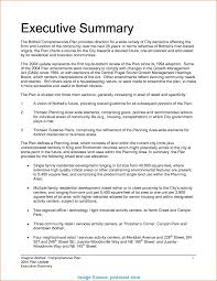 executive summery typical best executive summary template executive summary example