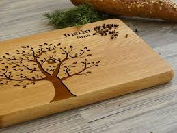 personalised cutting board.  Cutting Ideal For Use As A Small Chopping The Personalised Cutting Board   Tree Makes Intended N