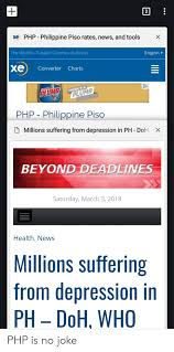 2 Php Philippine Piso Rates News And Tools Xe X The