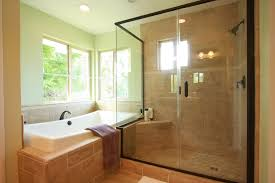 top collection remodel a bathroom with large wet room black shower colors and wide windows decor
