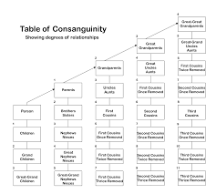 Relationship Chart In Hindi Consanguinity Wikipedia
