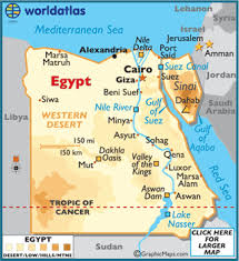 egypt map geography of egypt map of egypt worldatlas com Map Of The World Egypt map of egypt map of the world with egypt located