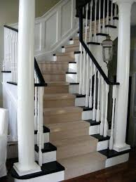 charming black and white rug runner carpet runner for stairs staircase traditional with banister black and