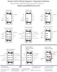 switches wiring diagrams wiring diagrams coastal switches rocker switches wiring diagram