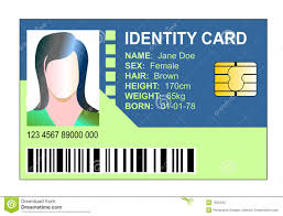 State - 7825425 Illustration Of Stock Illustration Identity Card