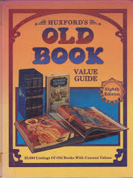 amazon huxford s old book value guide huxford