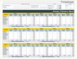 Free Employee Time Tracking Spreadsheet Examples Excel Card Templ On