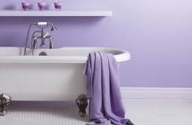 simple purple bathroom design ideas for small space purple bathroom design with towel and chandle