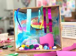 shoebox dioramas for kids