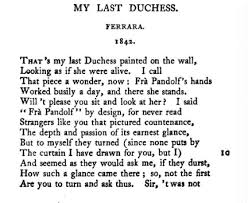 book discussion myself my last duchess and meeting at  this poem has been annotated here and shmooped here interesting and well written essays some historical background there is a great essay about