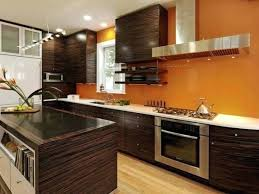 What Color To Paint Kitchen With Dark Cabinets Simple Decorating