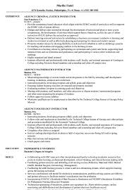 Download Instructor Adjunct Resume Sample as Image file