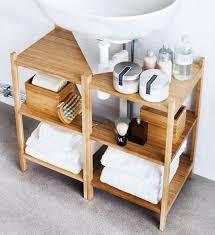 pedestal sink storage