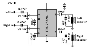 amplifier adding bass and treble control to existing schematic stereo amplifier