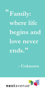 Family And Love Quotes Delectable 48 Heartwarming Quotes About Family Httpwwwnextavenueorg