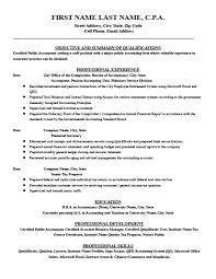 Financial Accountant Resume Template Premium Resume Samples Example