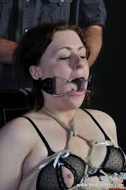 Bondage stories ring gag drooling