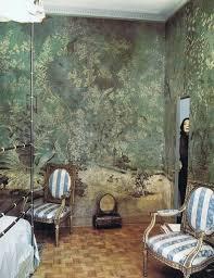 pauline de rothschild in her paris apartment bedroom shot by horst for vogue uk