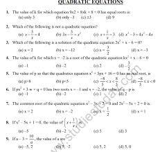 cbse class 10 mathematics quadratic