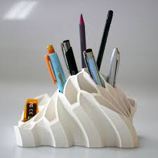 Free 3D Printer Designs Pen And Pencil Holder , BEEVERYCREATIVE
