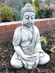 buddha garden statue extra large stone garden ornament stone buddha garden statue uk