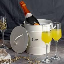 scoop wine champagne beer cooler cream